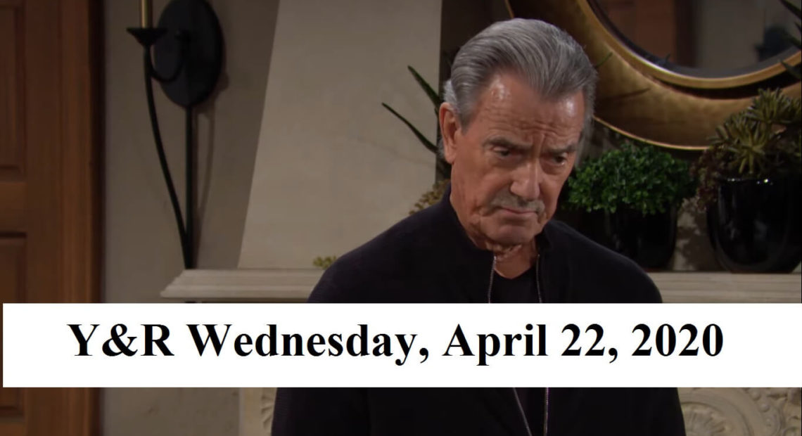 The Young and the Restless Spoilers For Wednesday, April 22, 2020
