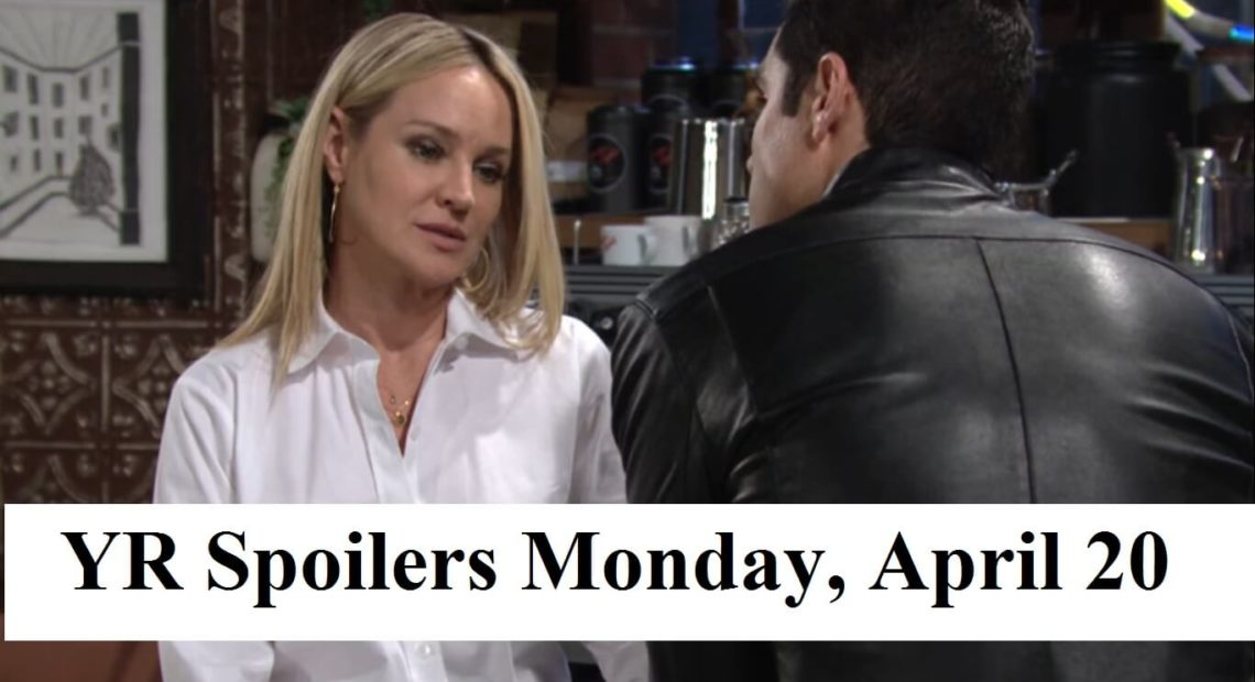 The Young and the Restless Spoilers Monday, April 20
