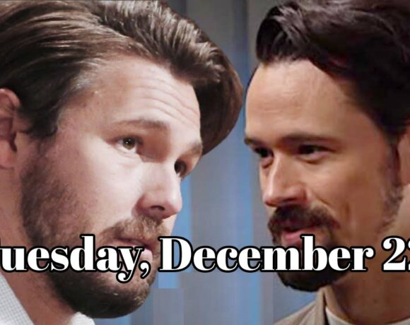 The Bold and the Beautiful Spoilers For Tuesday, December 22, B&B